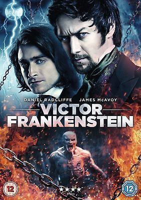 Victor Frankenstein [DVD] [2015]- Region 2 UK