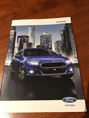 Ford Falcon FG X 2015 XR6 & XR8 Sales Brochure