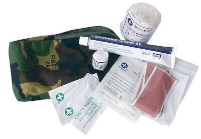 Web-Tex Small First Aid Kit Basic Compact Kit & Pouch Airsoft Cadet Training