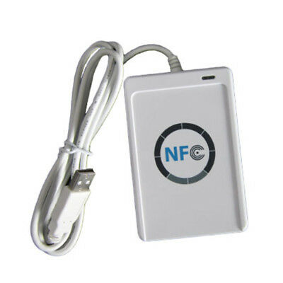 2017 USB ACR122U A9 NFC RFID Smart Card Reader Writer for All 4 Types of NFC