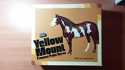 Breyer Yellow Mount Famous Paint Horse Model No. 51 Chestnut Paint with box