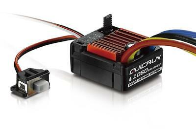 Hobbywing QUICRUN WP 1060 60A Brushed ESC Speed Controller 1/10 RC EP Car Buggy