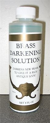 ANTIQUE METAL BRASS DARKENING SOLUTION  2oz  J3498