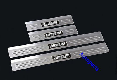 Door sill scuff plate Protector trim For Mitsubishi Lancer 2008-2017 Ralliart