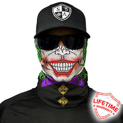 SA Face shield JESTER FACE MASK. FREE SHIPPING! 20 DIFFERNT STYLES!