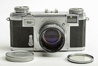 Contax IIa 35mm Rangefinder Camera - Zeiss-Opton Sonnar f/1.5 50mm Lens