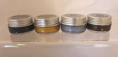 Set of 4 x 10 ml  Metallic Gilding Wax by Creative Expressions