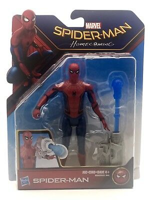 Personaggio Spiderman Homecoming Spider-man V1 Action Figure Hasbro 15 Cm