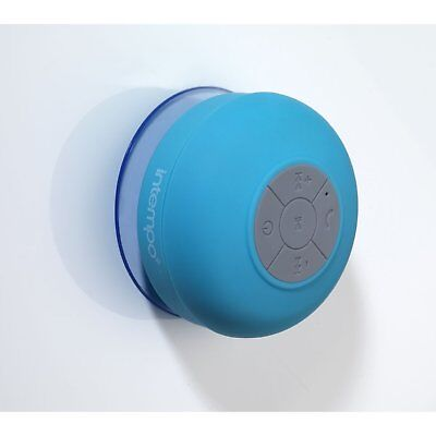 Intempo Bluetooth Wireless Handfree Splash Proof Speaker Blue EE1303CDUSTK