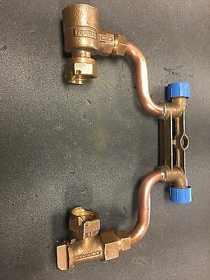 "5/8x3/4 Copper Mueller Meter Setter With 1"" Yoke"