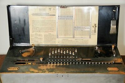 Antique Millionaire Calculator  circa 1900-1905 (based on serial number)