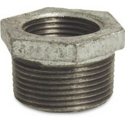 Galvanised Malleable Iron Reducing Bush Male x Female