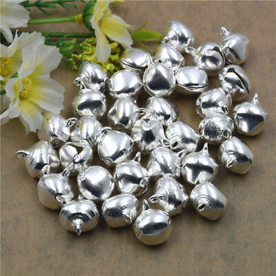 Lot 6~14mm Jingle Bell Dangle Charms Pendant Jewelry Making DIY Pet Bell