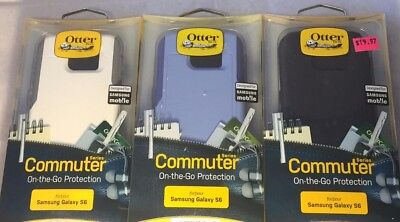 New Original OtterBox Commuter Series Case for Samsung Galaxy S6 -^