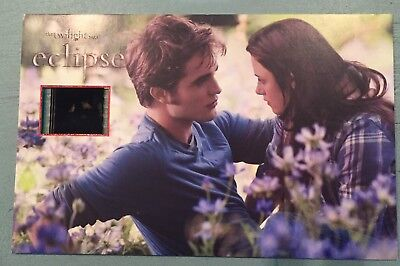 """The Twilight Saga  """"Eclipse""""  Collectible Senitype Film Cell"""