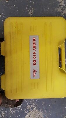Leica Rugby 410DG Dual Grade Rotary Laser Level | Rotating Laser | 400DG