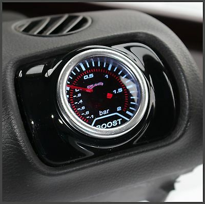 Seat Leon Mk1 1M Air Vent Pod Gauge Holder - Gloss Black