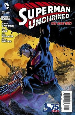 Superman Unchained #2A, NM 9.4, 1st Print, 2013, Unlimited Shipping Same Cost