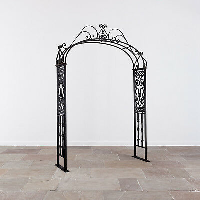 20th Century Cast Iron Garden Arch. Architectural Antiques.