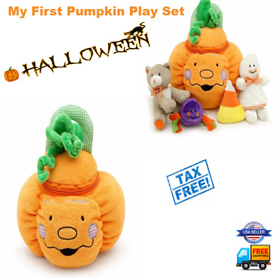 My First Pumpkin Play Set with 4 fun play pieces- Halloween Gift Baby Toys
