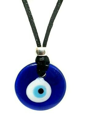 Evil eye nazar pendant protection cord necklace glass kabbalah evil eye nazar pendant protection cord necklace glass kabbalah jewish turkey aloadofball Image collections