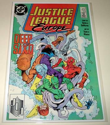 JUSTICE LEAGUE EUROPE # 2  DC Comic  May 1989  VFN