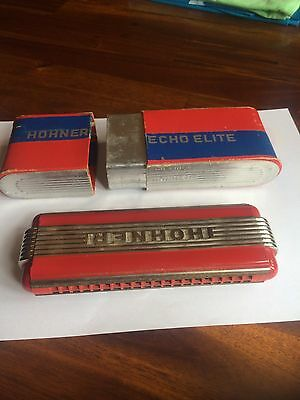 Hohner Echo Elite Mouth Organ Art Deco