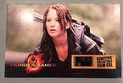 """""""The Hunger Games"""" Collectible Senitype Film Cell"""