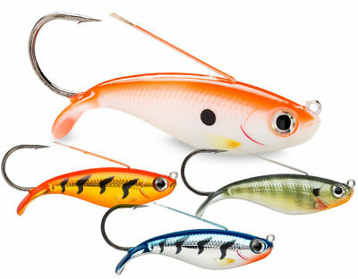 Brand New Rapala Weedless Shad Sinking Lure 8cm 16g Pike Perch Zander Predator