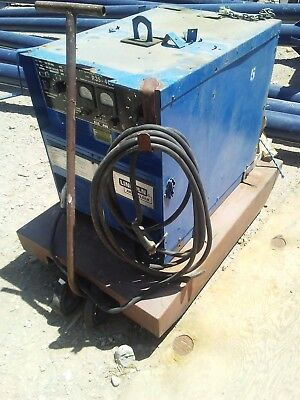 Lincoln Welder Idealarc R3S-400 With heavy duty cart fully funcional tested