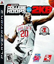 BRAND NEW SEALED PS3 Basketball -- College Hoops 2K8 (Sony PlayStation 3, 2007)