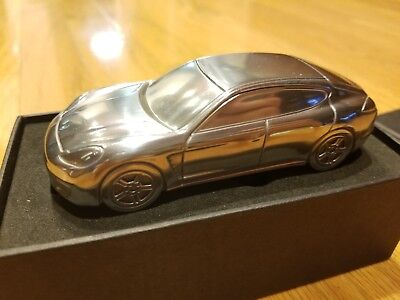 Porsche Panamera Turbo Paperweight Solid Aluminum 1:43 Model Limited Edition NEW