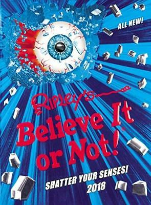 Ripleys Believe It or Not! 2018 Annuals by No Author Details New Hardcover Book