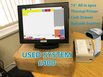 Touchscreen EPOS System for Off Licence, Retail, Corner Shop or FastFood