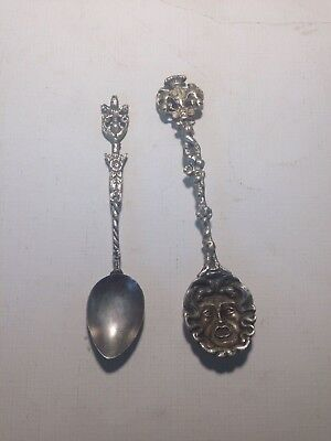 2 Collectible Italian Antique Spoons