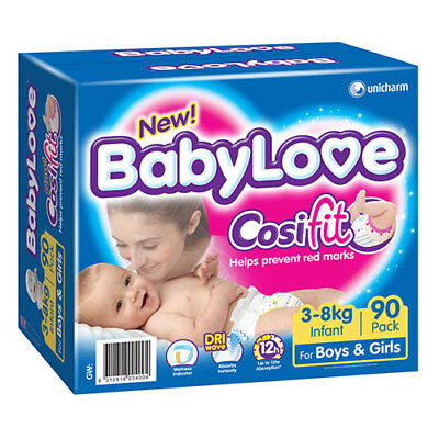 NEW Babylove Infant Jumbo 90
