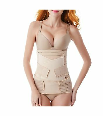 Postpartum Belly Band 3 in 1 Post Partum Support Girdle C-section Recovery Belly