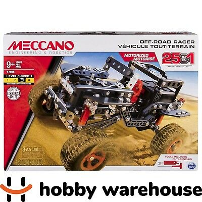 Meccano 17204 Off-Road Racer 25-Model Set