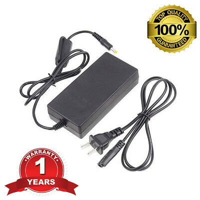 AC Adapter Charger Slim 7000 9000 Power Supply Cord for Sony PS2 Playstation 2
