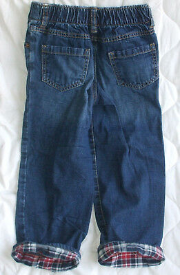 Sz 4 4T Gymboree Jeans Boys Roll Bottoms Pull on Pants