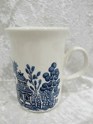 Churchill Blue Willow - Coffee Mug  vgc - 7 mugs available