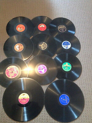 GRAMOPHONE RECORDS x 11 ~ GOOD CONDITION