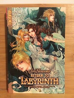 Return to Labyrinth, Jim Henson's vol. 4 / manga by TokyoPop *NEW* **Final Vol**