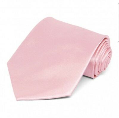 Baby Pink satin tie for kids toddler baby FAST SHIPPING!
