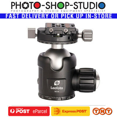 Leofoto Pro Ball Head with Panning Clamp NB-46 (Double-Action) Maximum Load:30kg