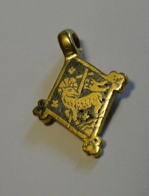 Extremely rare medieval GOLD pendant 13th-15th C. !!!!!