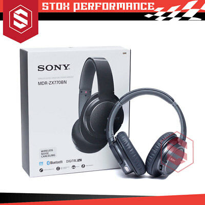 Sony MDR-ZX770BN Wireless Noise Cancelling Bluetooth Headset Headphone - New
