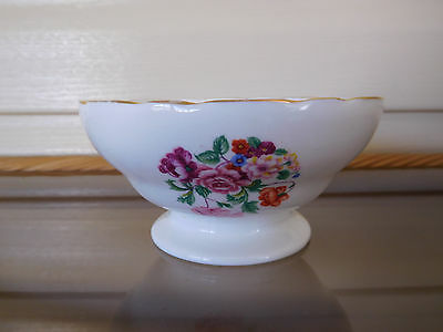 Hammersley Floral Sugar Bowl C91 Made In England