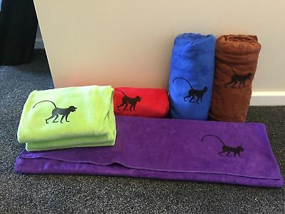 Microfibre towel Large 190cm x 75cm  The ultimate in quick drying!  5 coulers