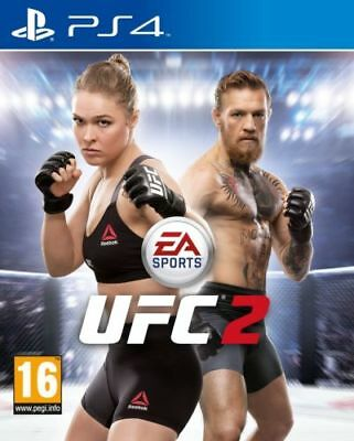 UFC 2 for Sony PS4 PlayStation 4 -  BRAND NEW & SEALED GAME